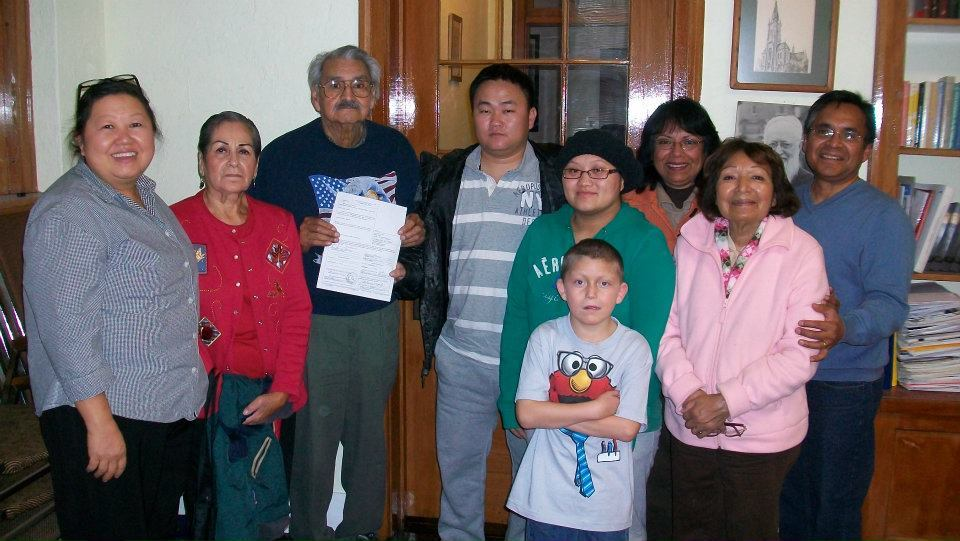 The Gomez and Vang Families