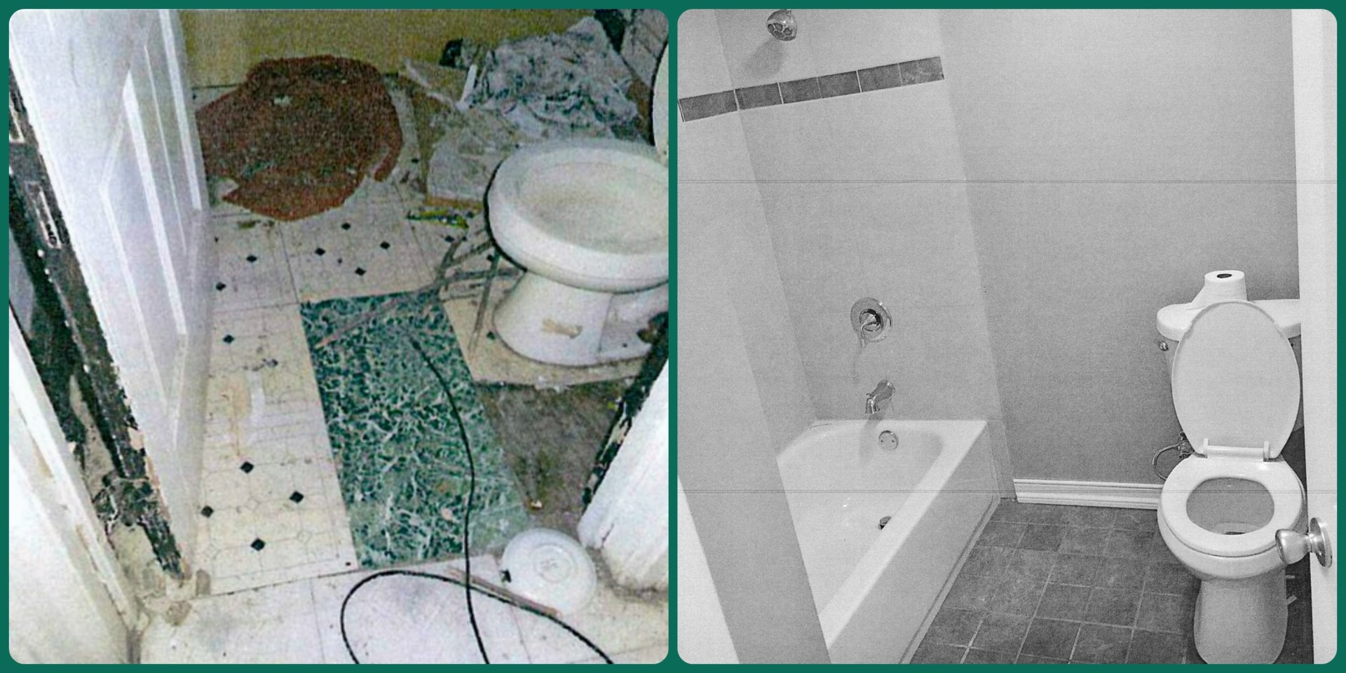 Lee Family's Bathroom: Before & After