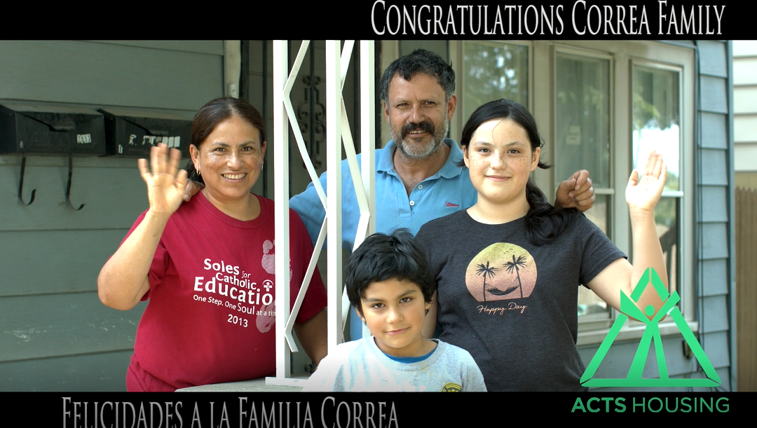 All Hands on Deck with the Correa Family